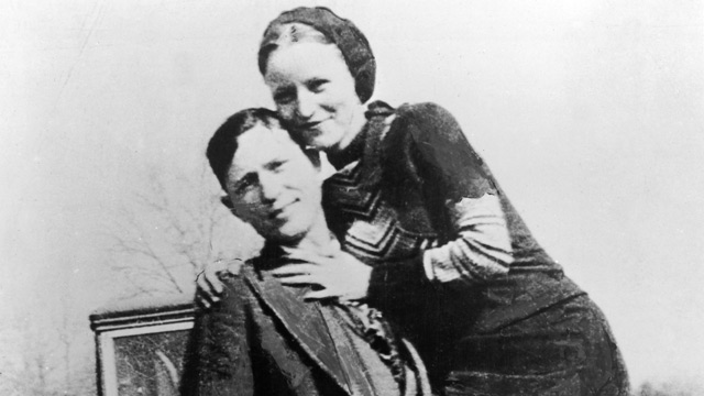 Bonnie and Clyde die in a hail of bullets