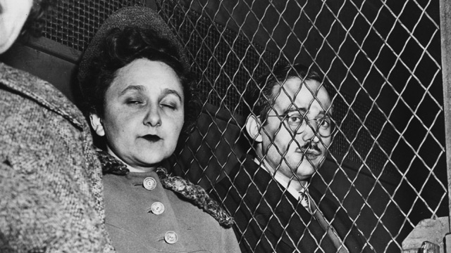 Ethel and Julius Rosenberg are tried for espionage against the US