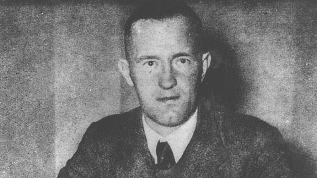 The last man hanged in UK for treason, William Joyce, born in US