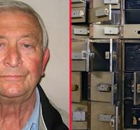 Tens of millions of pounds worth of diamonds, gold bars, bearer bonds and bags stuffed with used bank notes, stolen.
