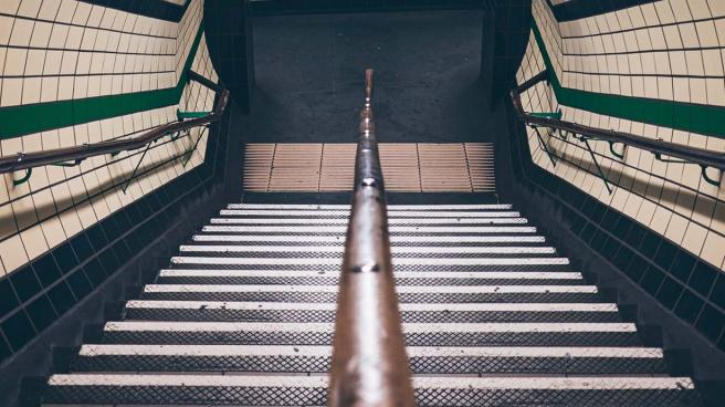 A London Underground station