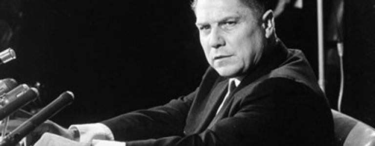 Labour leader Jimmy Hoffa disappears, never to be seen again