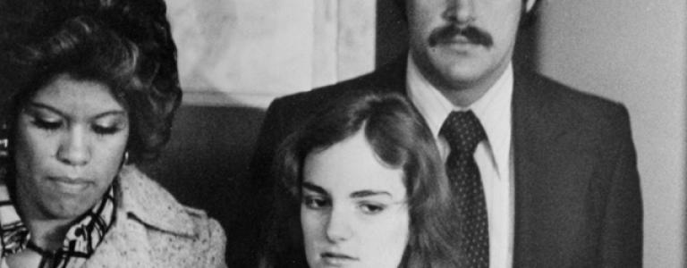 The infamous Stockholm syndrome case, Patty Hearst, is born