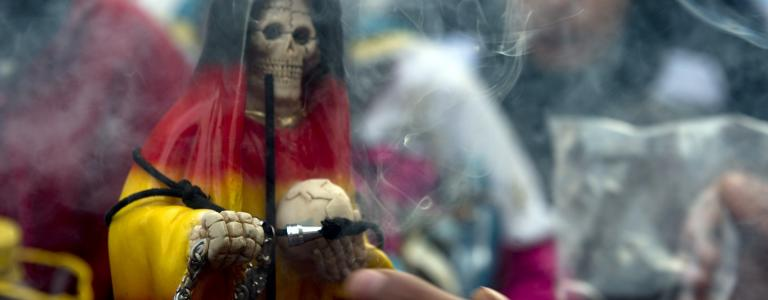 Half drug-peddlers, half black magic cult, Los Narcosatánicos practised occult rituals in order to 'bless' their deals
