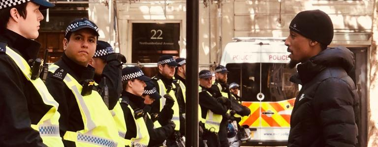 Police brutality in the US is a real issue. But Britain is not so innocent.