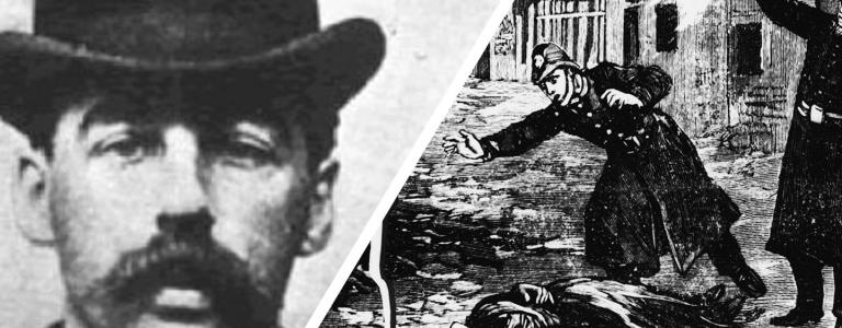 One left a string of victims in the streets of Victorian Whitechapel, the other operated a sadistic house of horrors thousands of miles away in the US. Could they be the same person?