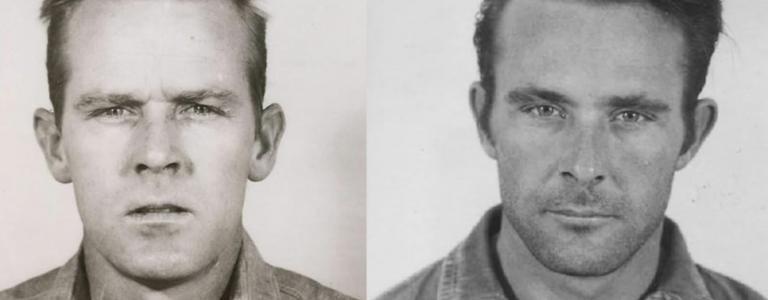 John Anglin (left) Clarence Anglin (right)
