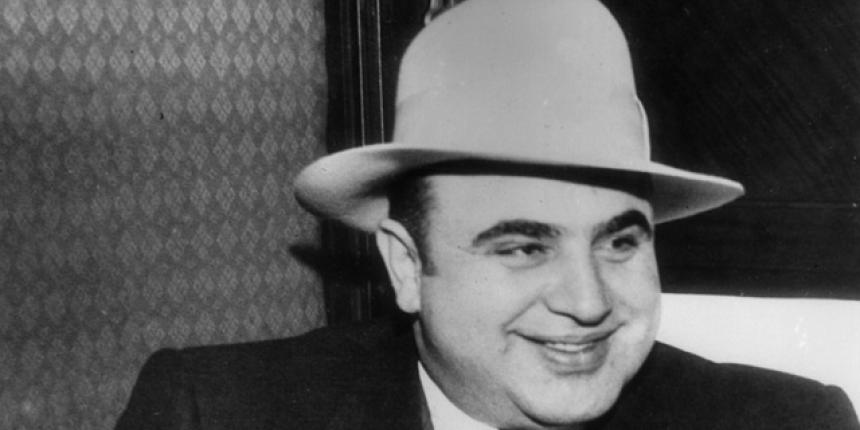 Bootlegger racketeer Al Capone gets 11 years for tax evasion