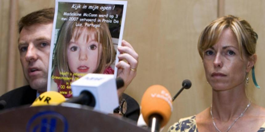 Madeleine McCann's mother named as suspect in disappearance