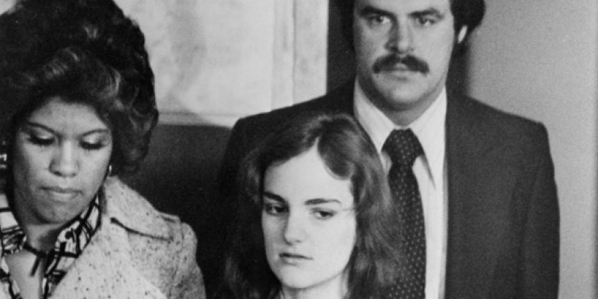 Patty Hearst arrested. States her job to police as 'urban guerrilla'