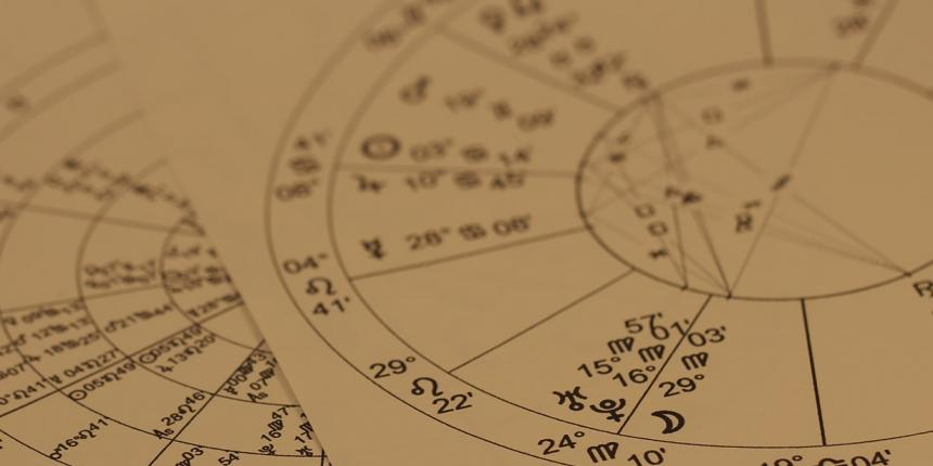 Photo of a star chart